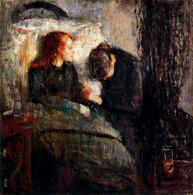 La Niña Enferma - Edvard Munch